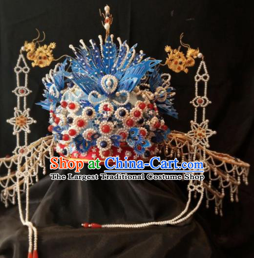 Traditional Chinese Ming Dynasty Empress Phoenix Coronet Hairpins Ancient Court Queen Hair Accessories for Women