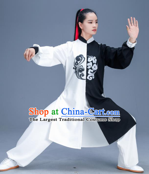 Chinese Traditional Kung Fu Tai Chi Training Garment Outfits Martial Arts Stage Show Costumes for Women