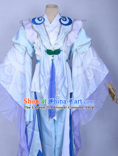 Chinese Cosplay Princess Hanfu Dress Traditional Ancient Female Swordsman Costumes for Women