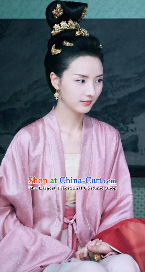 Chinese Ancient Song Dynasty Dauphine Zhang Nianzhi Drama Royal Nirvana Replica Costumes for Women