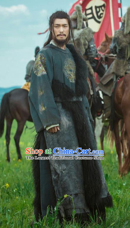 Chinese Drama Empress of the Ming Dynasty Ancient Yingzong Emperor Zhu Qizhen Replica Costumes Complete Set