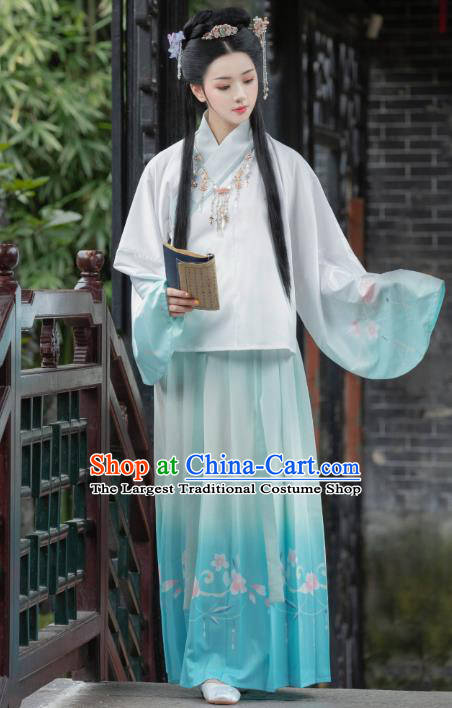 Chinese Traditional Ancient Goddess Princess Historical Costumes for Women