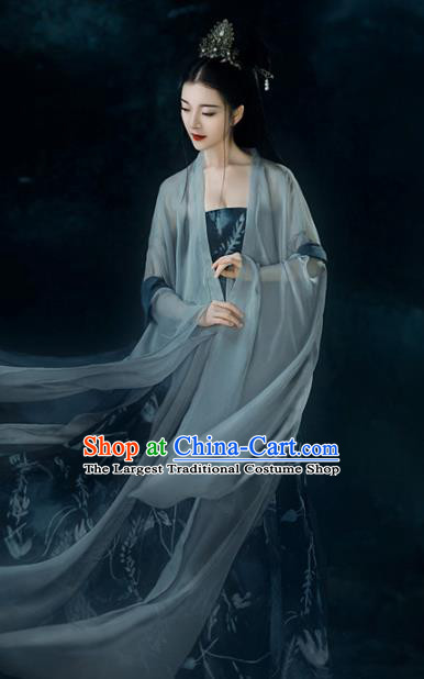 Chinese Ancient Royal Infanta Hanfu Dress Traditional Tang Dynasty Palace Princess Costumes for Women