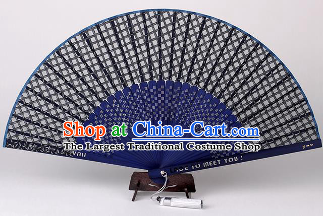 Traditional Chinese Handmade Silk Folding Fan China Bamboo Fan Oriental Fan