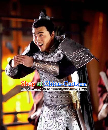 Chinese Ancient Ancient Spring and Autumn Period General Xue Kun Historical Television The Ugly Queen Costume for Men