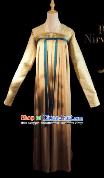 Chinese Ancient Court Maid A Bao Costume Historical Drama Royal Nirvana Song Dynasty Hanfu Dress for Women