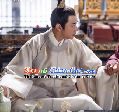 Chinese Ancient Prince Xiao Dingquan Historical Drama Royal Nirvana Song Dynasty Costume for Men