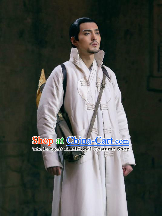 Historical Drama Chinese Ancient Taoist WuXin The Monster Killer Chu Chenzi Costume for Men