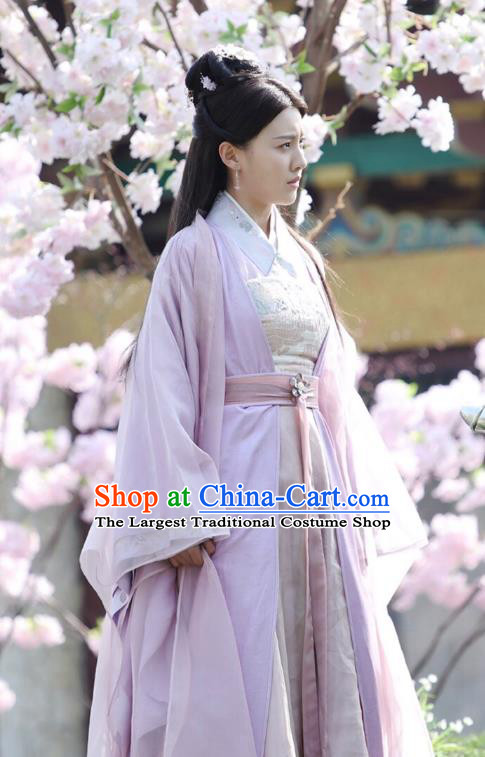 Drama Colourful Bone Chinese Ancient Princess Consort Jing Shu Dress Costume and Headpiece for Women