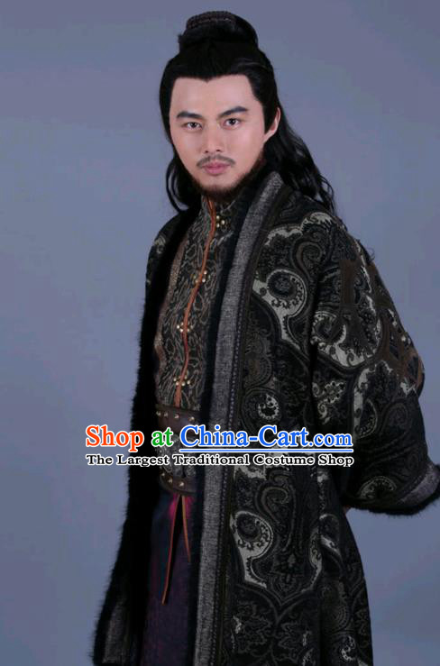 Chinese Ancient Swordsman Zhang Xianbing Clothing Historical Drama The Legend of Zu Costume for Men