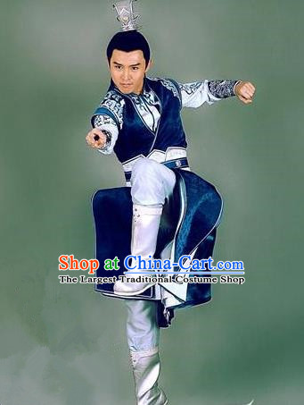 Chinese Ancient Swordsman Taoist Clothing Historical Drama The Legend of Zu Costume for Men