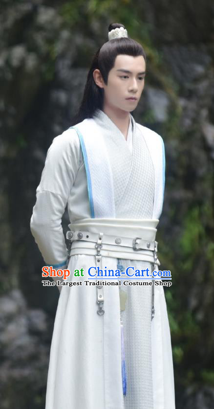 Chinese Ancient Childe Hua Wuque Clothing Historical Drama Handsome Siblings Costume for Men