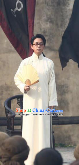 Republic of China Drama Candle in The Tomb The Wrath of Time Grave Robber Leader Chen Yulou Costume for Men