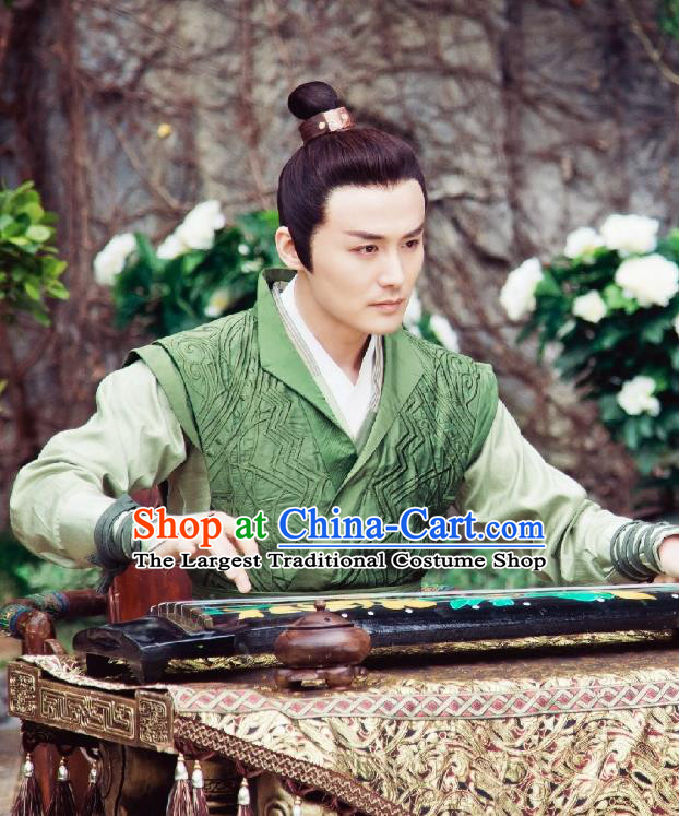 Chinese Ancient Historical Drama A Step Into The Past Qin Dynasty Prince Zhao Pan Costume for Men