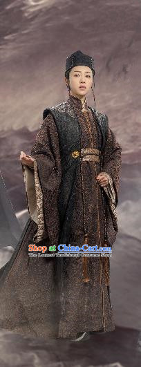 Chinese Drama Guardians of The Ancient Oath Female Swordsman Ling Jun Costume and Headpiece for Women