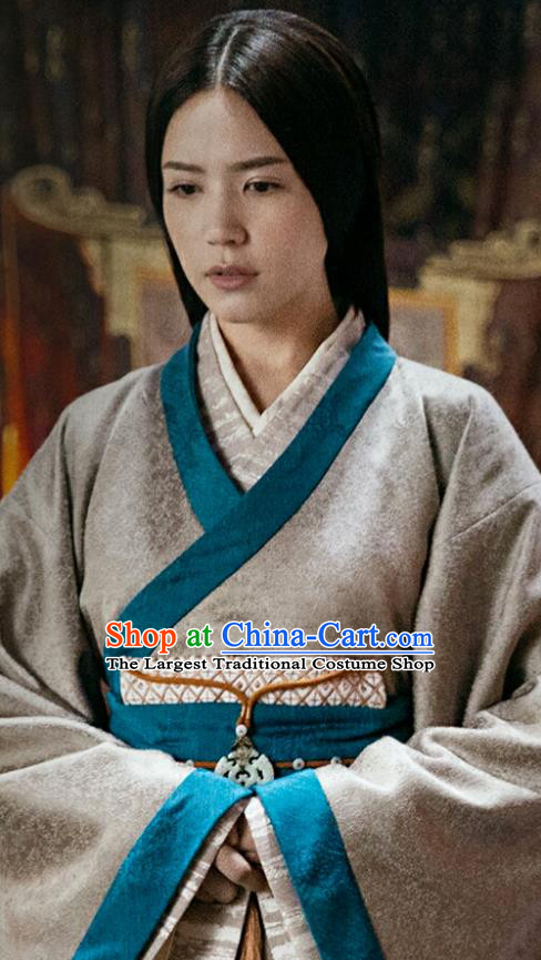 Chinese Drama Guardians of The Ancient Oath Royal Princess Jinyang Costume and Headpiece for Women