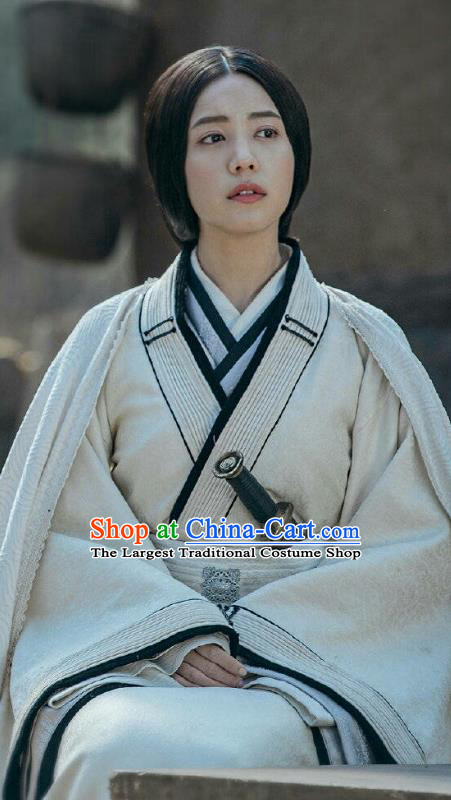 Chinese Historical Drama Guardians of The Ancient Oath Princess Jinyang Costume and Headpiece for Women