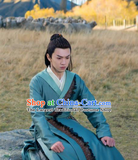 Chinese Ancient Swordsman Yu Yingqi Clothing Historical Drama The Legend of Zu Costume for Men