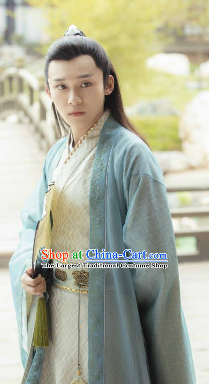 Love Better Than Immortality Chinese Ancient Swordsman Childe Qin Liufeng Clothing Historical Drama Costume and Headwear for Men
