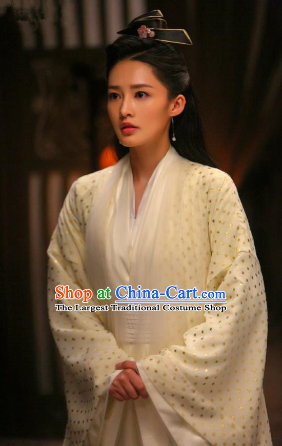 Qing Yu Nian Chinese Historical Drama Joy of Life Ancient Princess Lin Wan Er Costume and Headpiece Complete Set