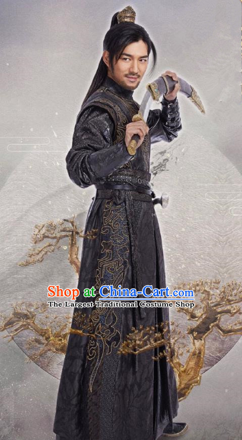 Chinese Drama The Love By Hypnotic Ancient Swordsman Yun Si Historical Costume and Headwear for Men