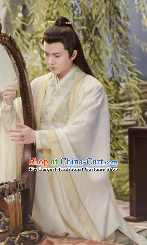 Drama Under the Power Chinese Ancient Ming Dynasty Imperial Guard Lu Yi Costume and Headpiece Complete Set