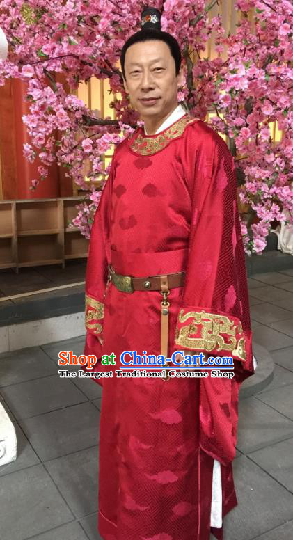 Chinese Ancient Court Eunuch Official Clothing Drama Mengfei Comes Across Wu Weiyong Costumes
