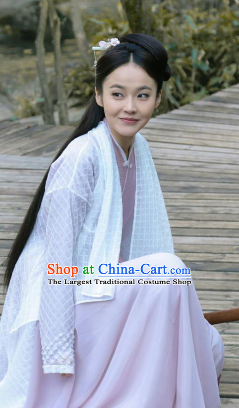 Chinese Ancient Civilian Lady Historical Costumes and Hairpins Drama Tang Dynasty Tour Li Anlan Dresses