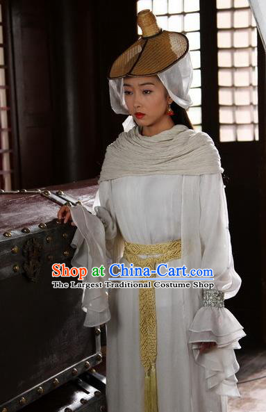 Chinese Ancient Tang Dynasty Dance Lady Historical Costumes and Hat Drama Legend of Southwest Dance and Music Lanma Shandi Dresses