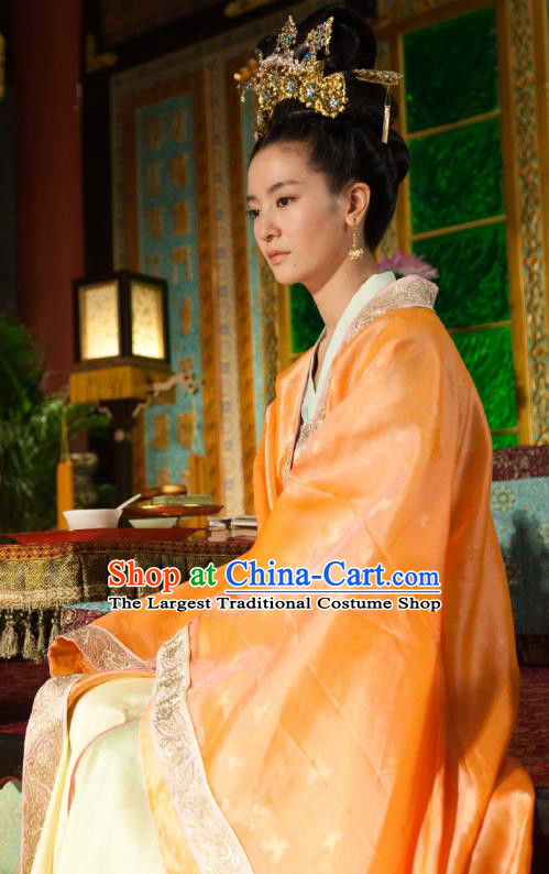Chinese Ancient Court Rani Apparels Costumes and Headwear Drama The World of Love Royal Princess Yuan Yuezheng Hanfu Dress Garment