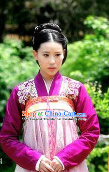 Chinese Ancient Princess Costumes Garment and Headpieces Drama The Empress Court Maid Dress Apparels