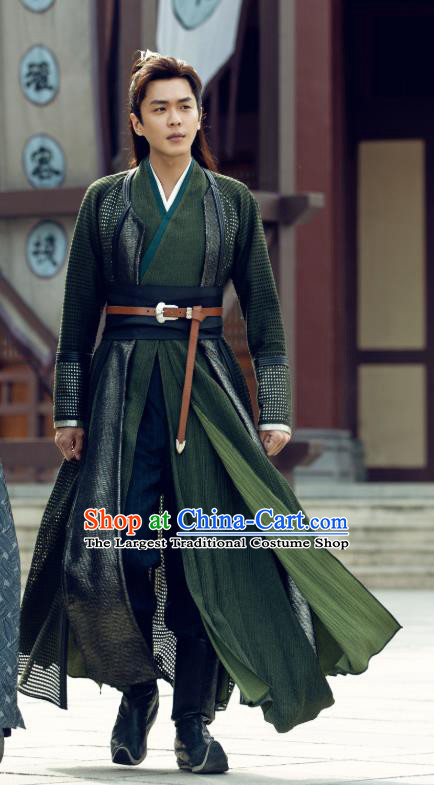 Qing Yu Nian Chinese Ancient Swordsman Fan Xian Drama Joy of Life Zhang Ruoyun Replica Costume for Men