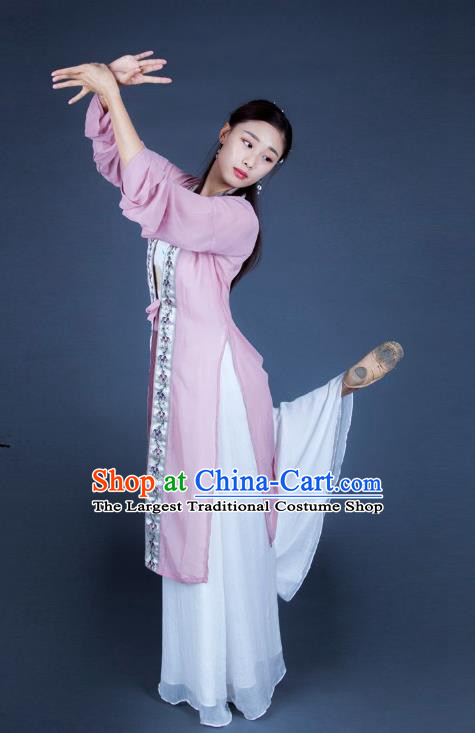 Chinese Traditional Dance Unsillied Dress Classical Dance Stage Performance Costume for Women