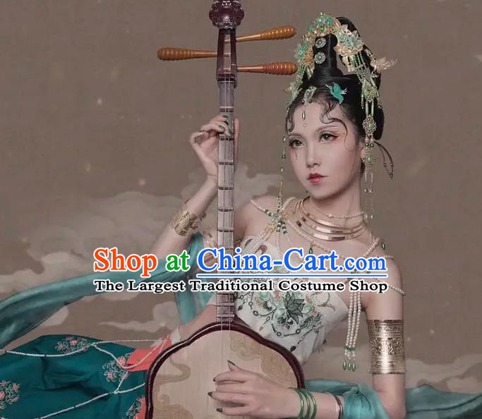 Chinese Dance National Treasure Flying Apsaras Dress Traditional Classical Dance Stage Performance Costume for Women