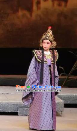 Chinese Yue Opera Wusheng Military Official Costumes and Headwear The Magnificent Mayor Shaoxing Opera Young Male Swordsman Garment Apparels