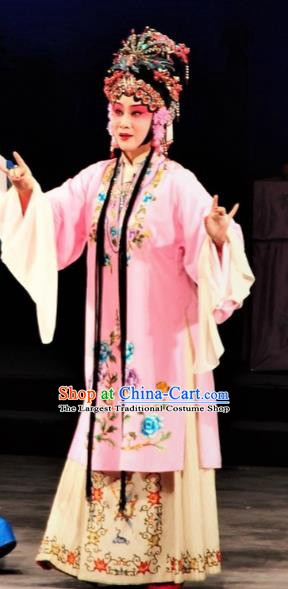 The Palace of Eternal Youth Chinese Kun Opera Diva Costumes Peking Opera Hua Tan Dress Apparels Consort Yang Garment and Headwear