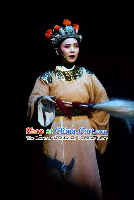 Xianglian Case Chinese Yue Opera Young Man Garment Apparels and Headwear Shaoxing Opera Eunuch Costumes