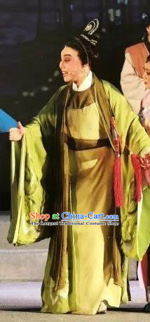 Xu Fu Dong Du Chinese Yue Opera Xiaosheng Costumes and Headwear Shaoxing Opera Young Male Garment Apparels