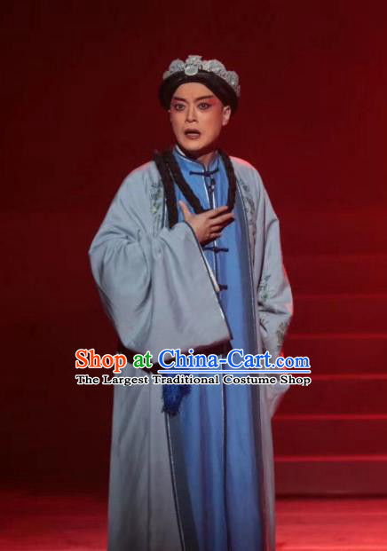 Rong Bao Zhai Chinese Kun Opera Young Male Apparels and Headwear Garment Costumes Kunqu Opera Shopkeeper Yin Jie Clothing
