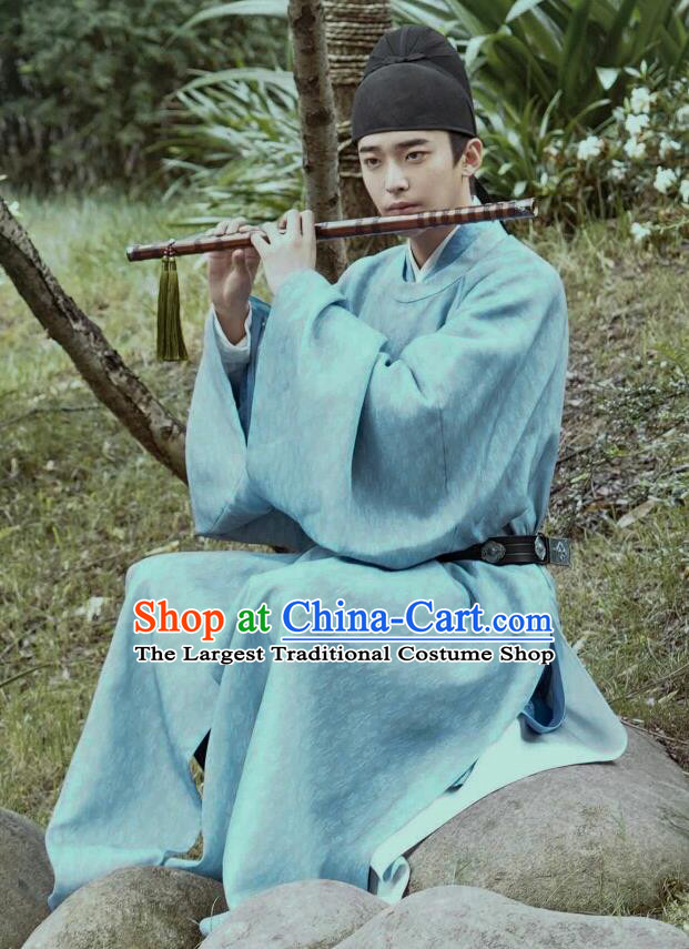 Chinese Ancient Noble Childe Historical Costumes Drama Serenade of Peaceful Joy Song Dynasty Prince Li Wei Clothing and Hat