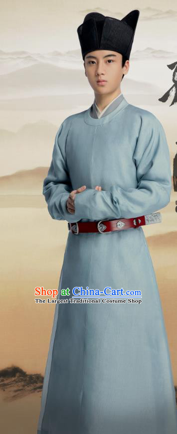 Chinese Ancient Servant Clothing Historical Drama Serenade of Peaceful Joy Song Dynasty Court Eunuch Liang Huaiji Costumes and Headwear
