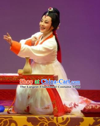 Chinese Shaoxing Opera Hua Tan Chun Xiang Korean Garment and Headdress Chunh Yang Yue Opera Geisha Dress Costumes Hanbok Apparels