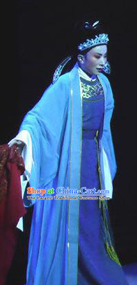 The Beautiful Courtesan Chinese Yue Opera Niche Li Jia Costumes and Headwear Shaoxing Opera Young Male Apparels Xiaosheng Scholar Garment