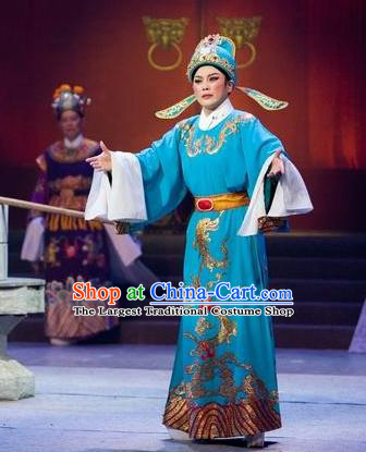 Chinese Yue Opera The Number One Scholar Is Not Love Young Male Clothing and Headwear Shaoxing Opera Xiaosheng Yang Xueyun Garment Costumes