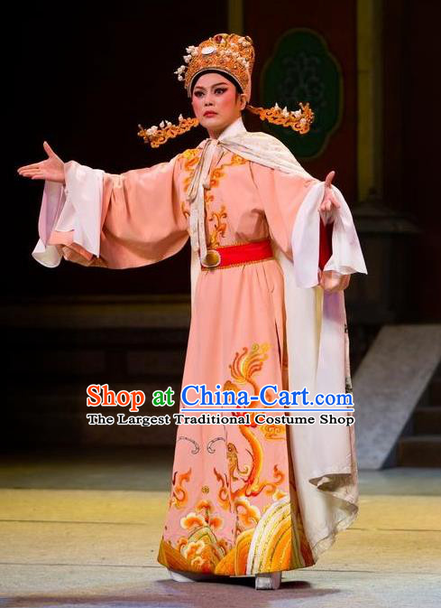 Chinese Yue Opera Young Male The Number One Scholar Is Not Love Yang Xueyun Garment and Headwear Shaoxing Opera Niche Costumes Apparels Clothing