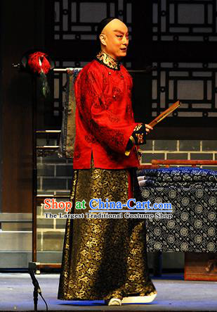 Inspector And Prince Chinese Peking Opera Niche Le Chun Garment Costumes and Headwear Beijing Opera Xiaosheng Apparels Young Male Clothing