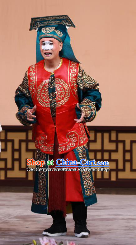Chun Gui Meng Chinese Peking Opera Runners Garment Costumes and Headwear Beijing Opera Wusheng Apparels Takefu Clothing
