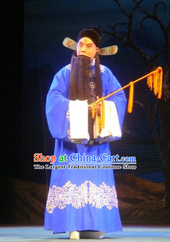 Sun An Dong Ben Chinese Peking Opera Prefect Apparels Costumes and Headpieces Beijing Opera Official Garment Magistrate Sun An Clothing