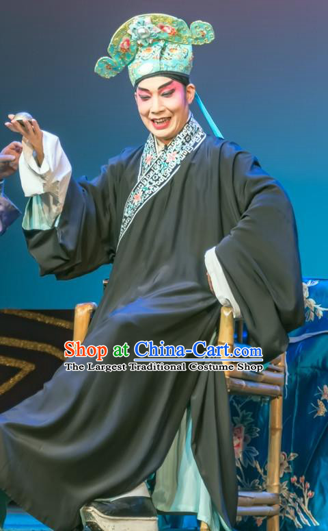 Chinese Sichuan Opera Scholar Chang Shiyong Apparels Costumes and Headpieces Peking Opera Niche Garment Young Male Male Clothing