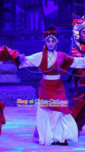 Chinese Beijing Opera Diva Zhu Lianxiu Apparels Costumes and Headpieces Traditional Peking Opera Young Female Dress Actress Garment